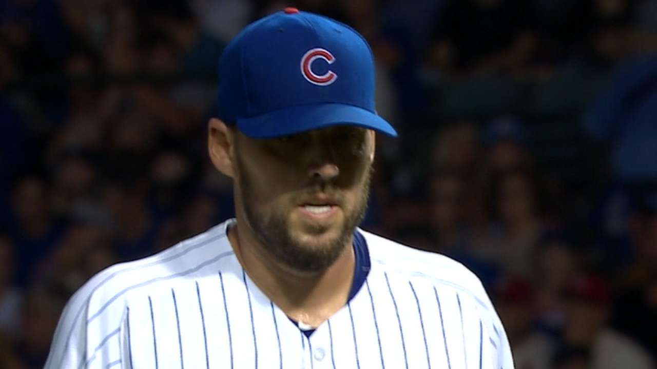 Lackey pulled vs. Cards with tight shoulder