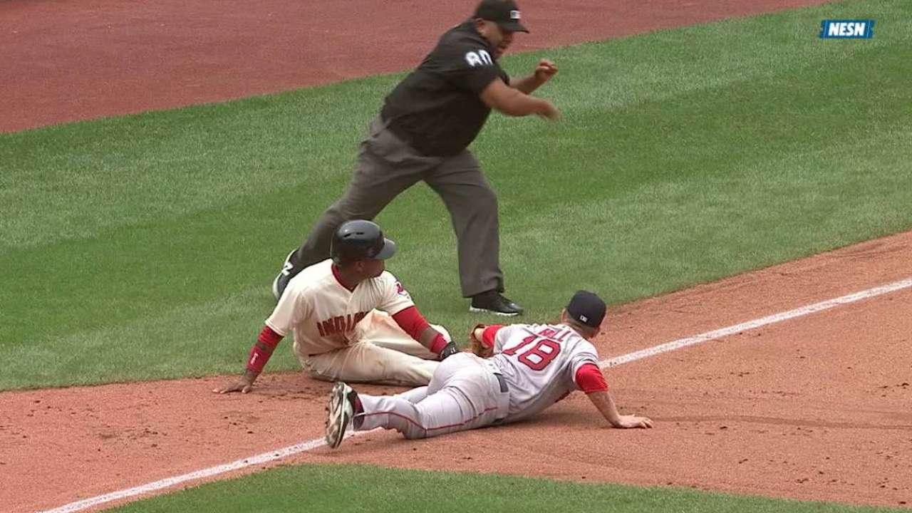 Holaday throws out Ramirez