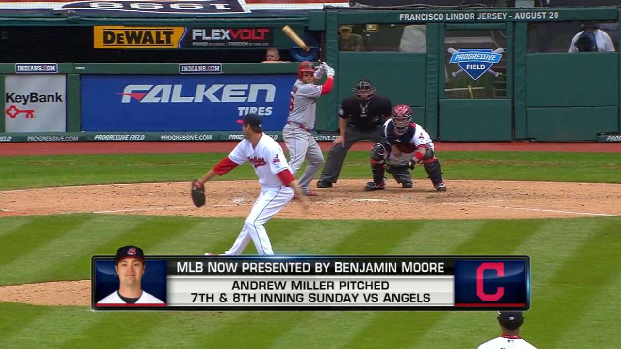 MLB Now on Tribe's use of Miller