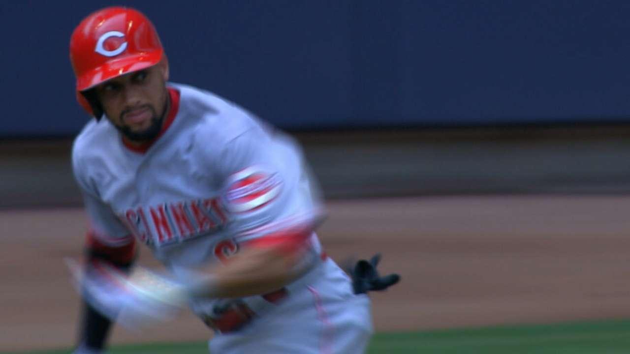 Hamilton takes Statcast crown as baseball's fastest