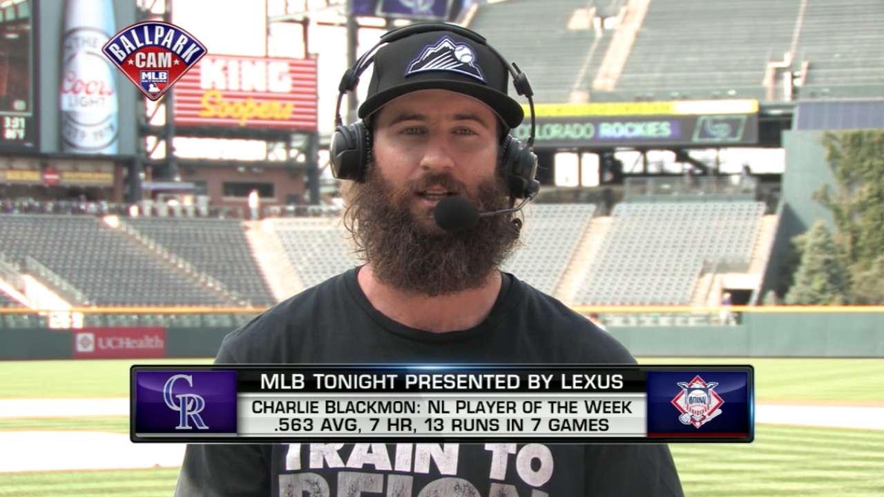 MLB Tonight: Charlie Blackmon