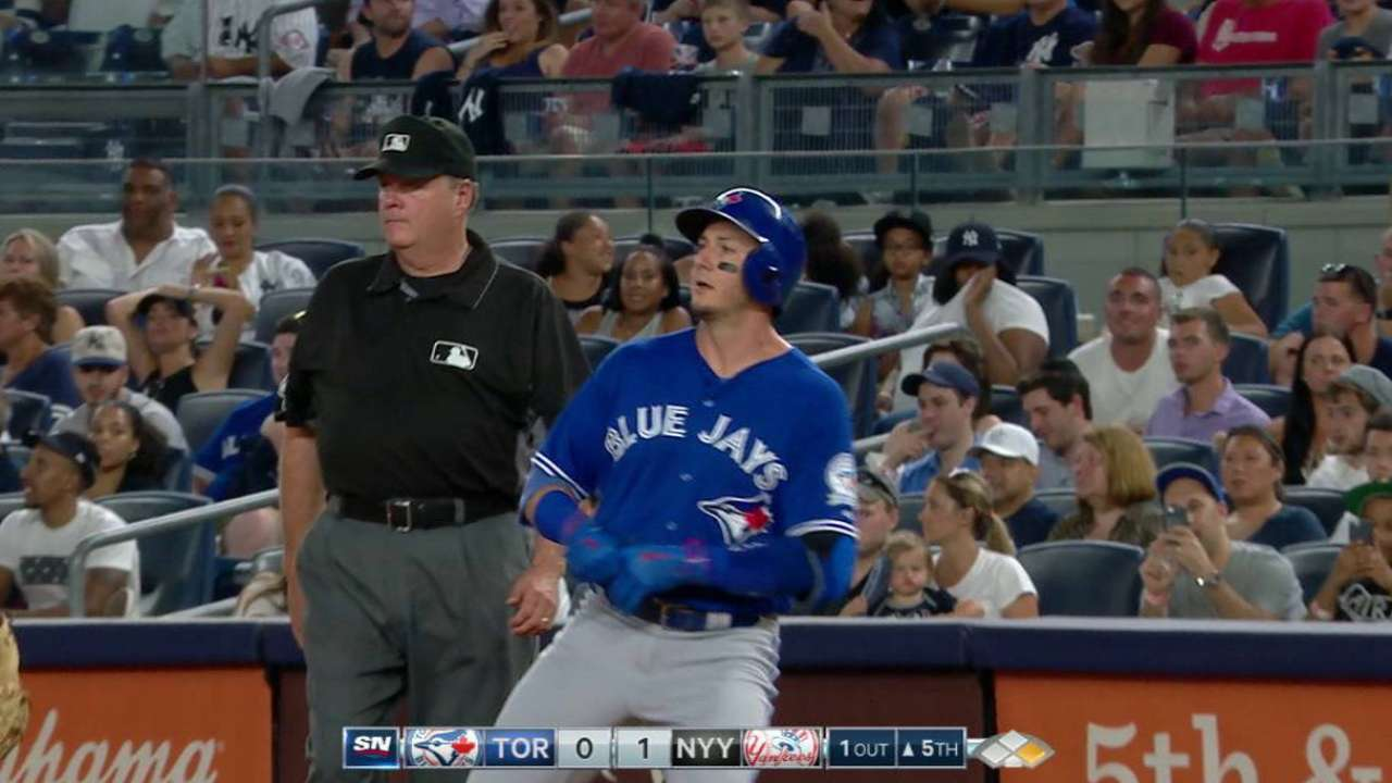 Tulo ends perfect-game bid