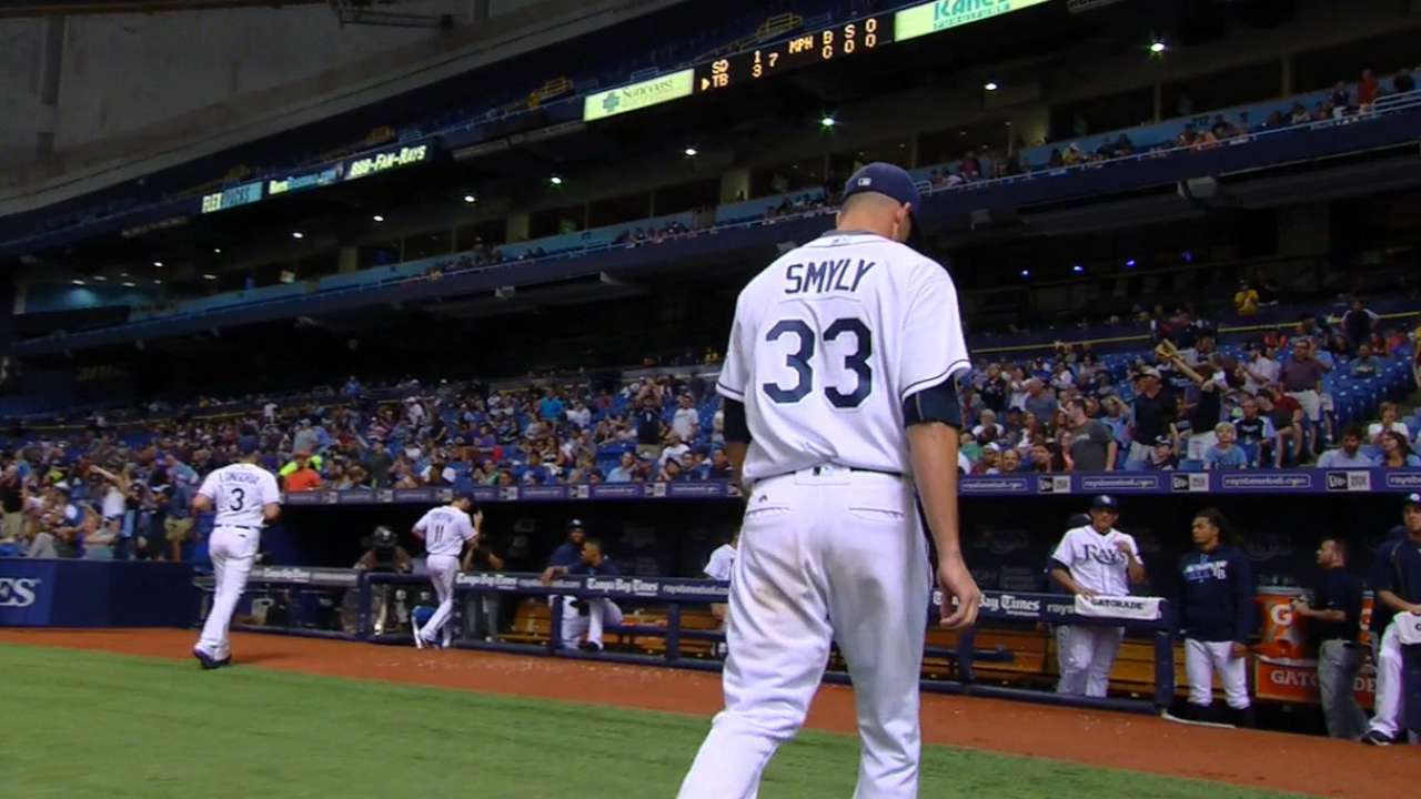 Smyly continues hot stretch with 1-hit outing