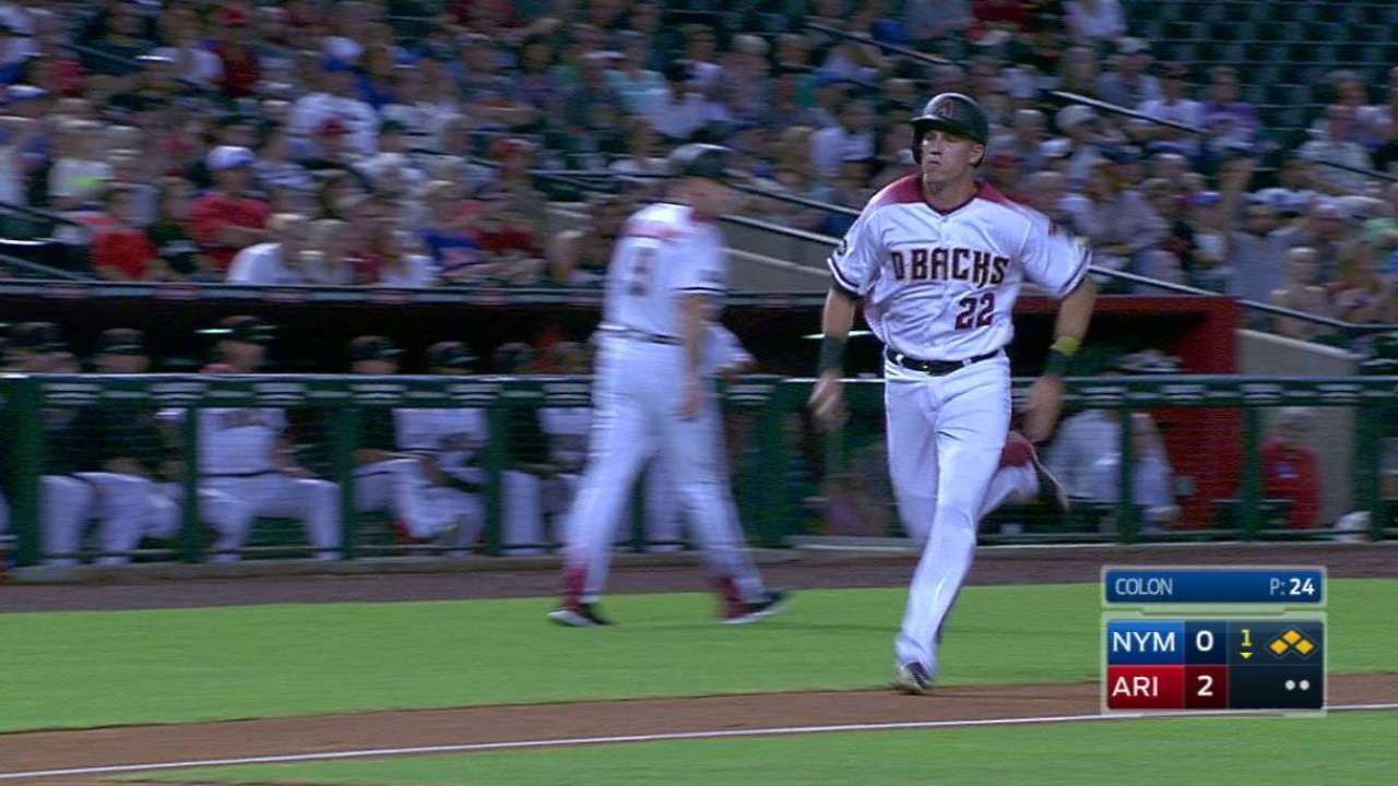 Owings' RBI single