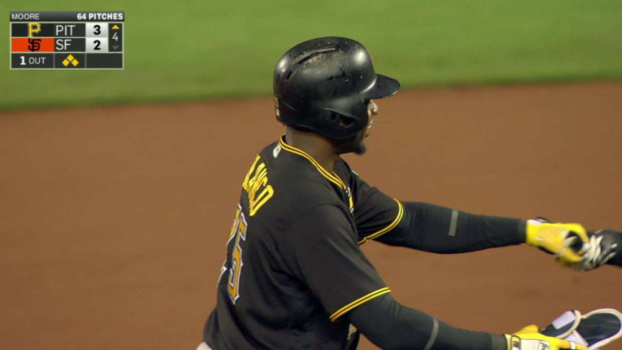 Polanco leads charge as Pirates topple Giants