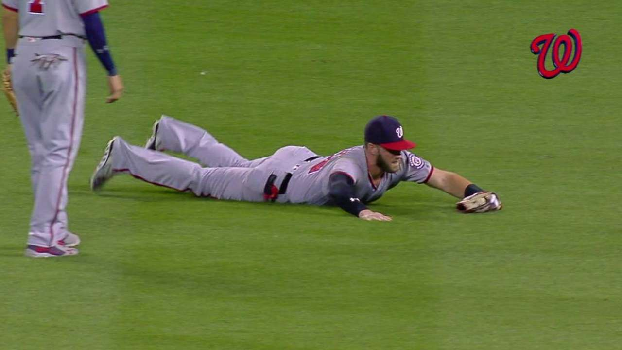 Harper's second athletic snag