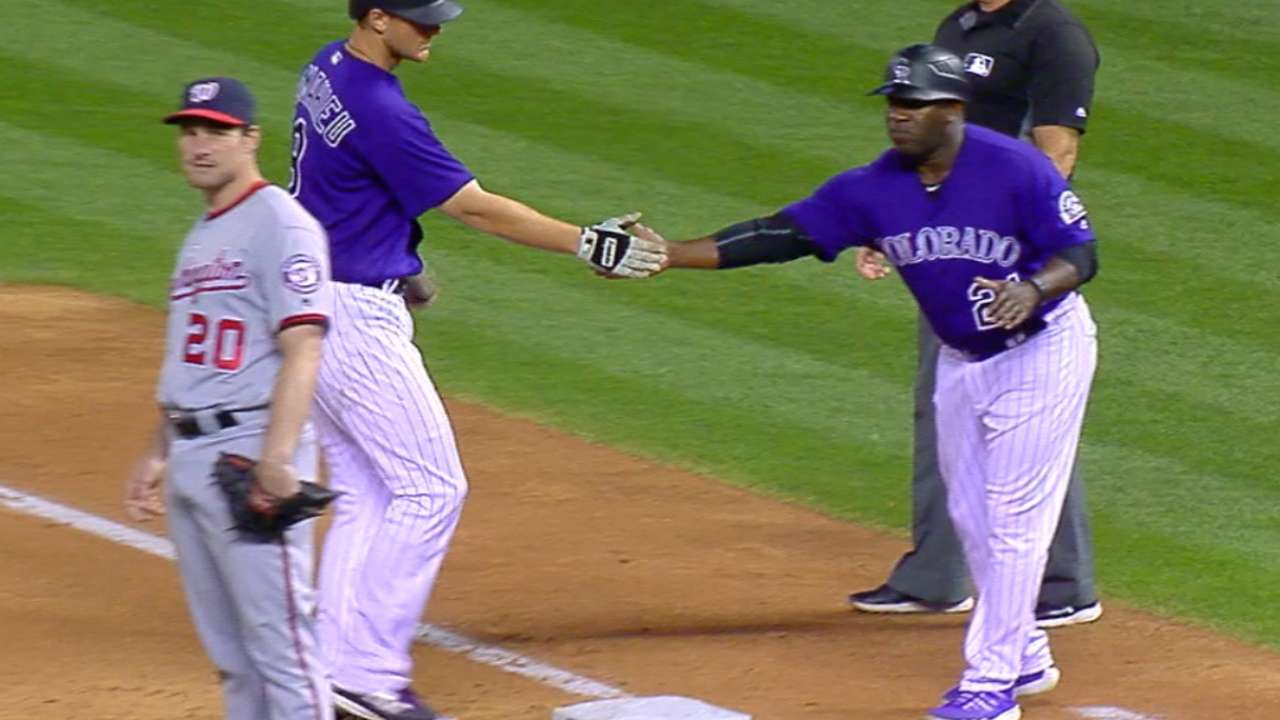 LeMahieu's four-hit game