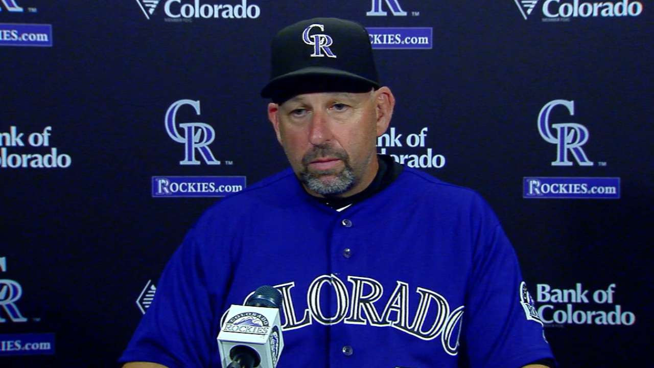 Weiss on 5-4 loss to Nationals