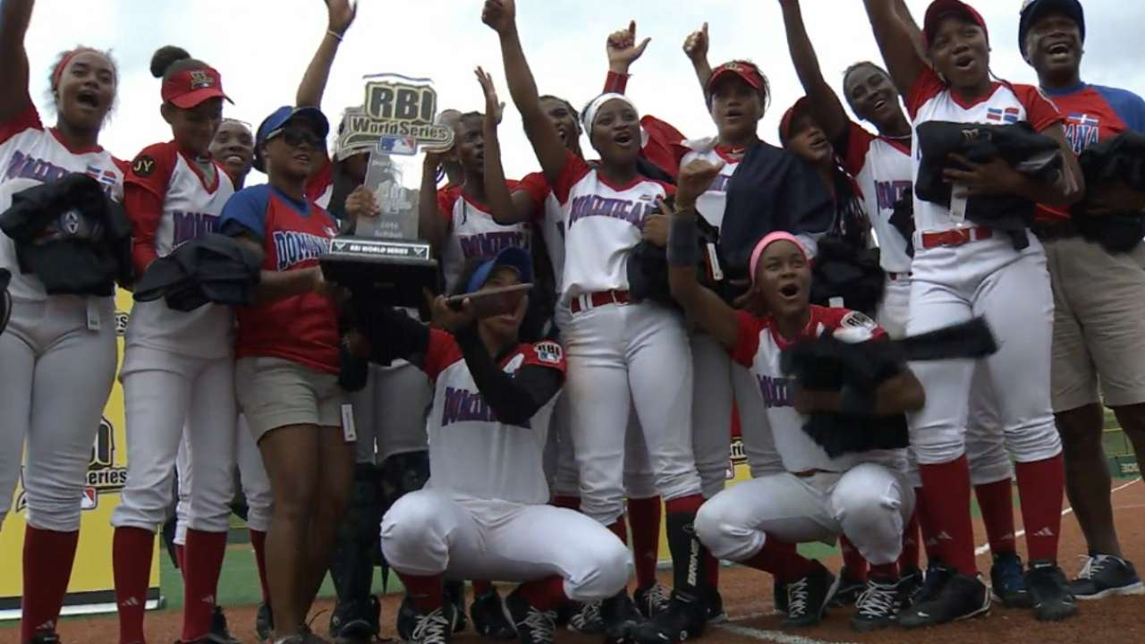 Dominican tops Cleveland for RBI softball title