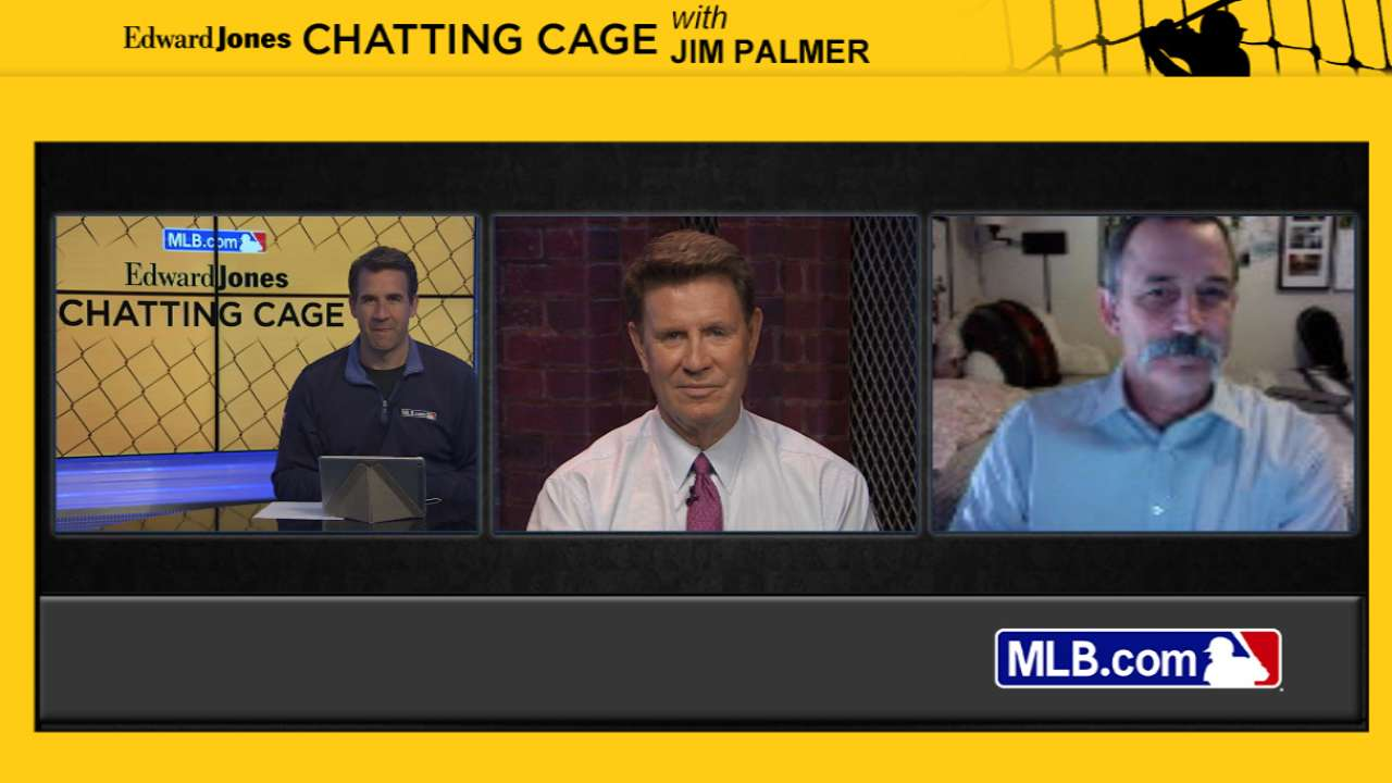 Palmer talks '66 World Series in Chatting Cage