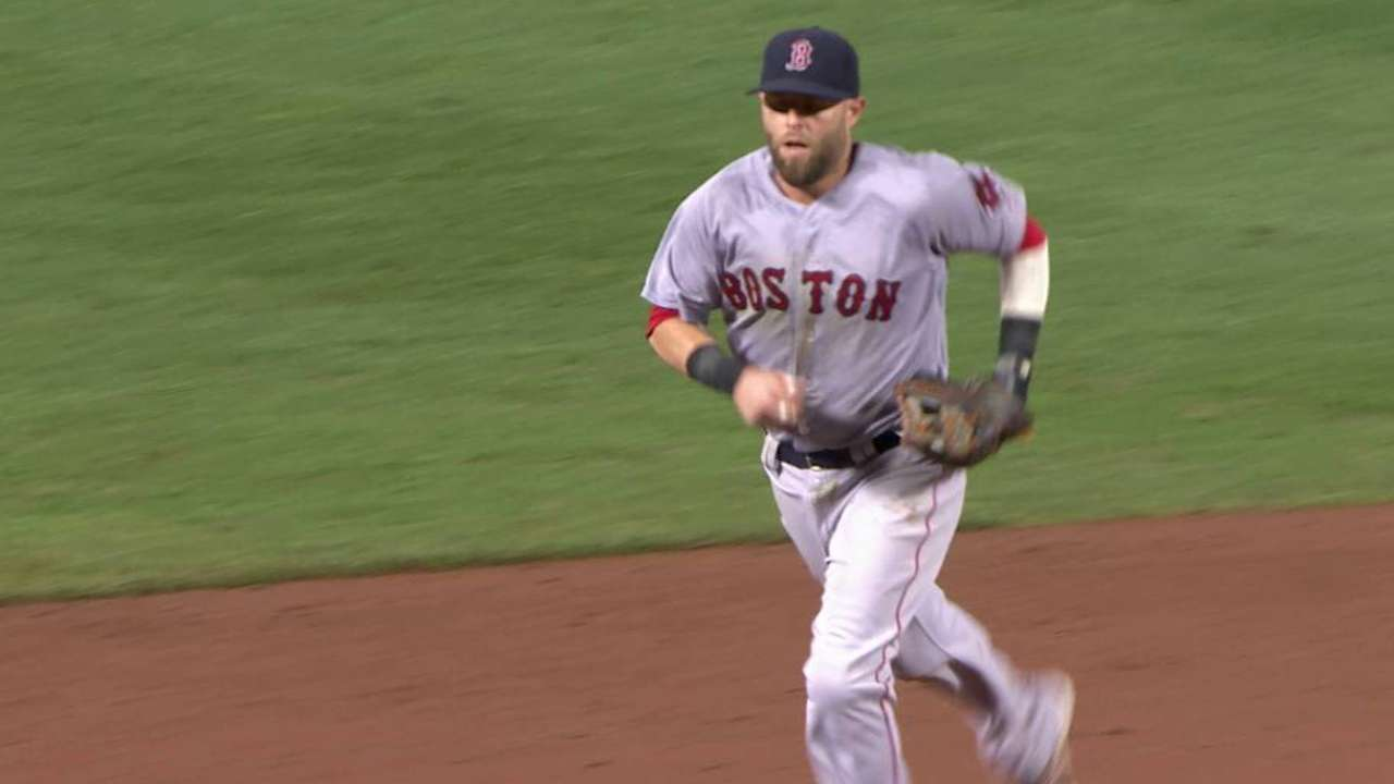 Pedroia's great diving grab