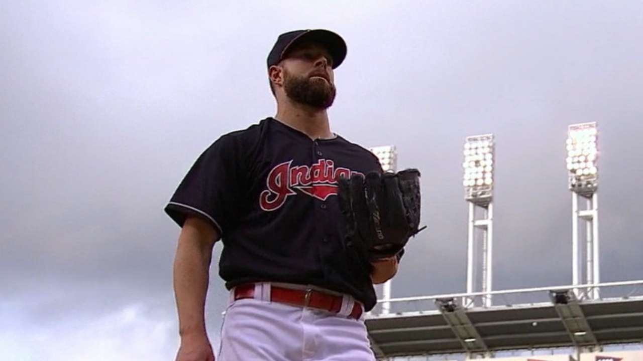 Kluber quietly slipping back into Cy discussion