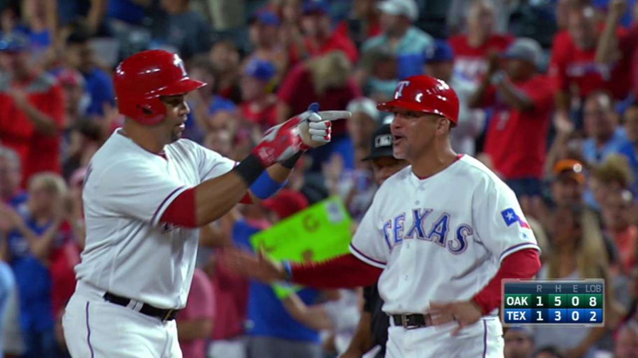 Beltran brings in Chirinos