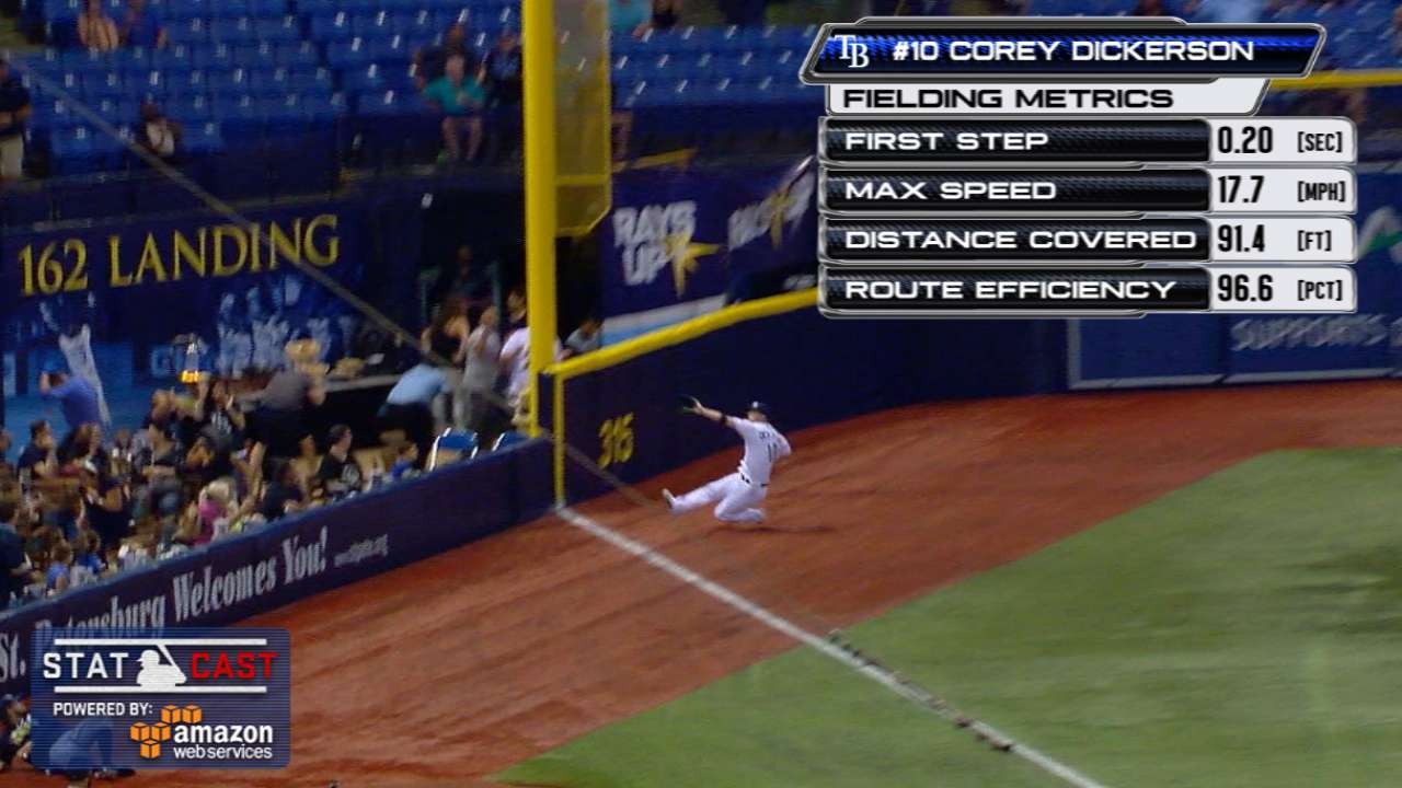 Statcast: Dickerson's sweet grab