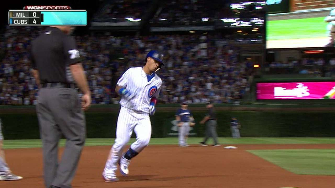 Baez's two-run home run