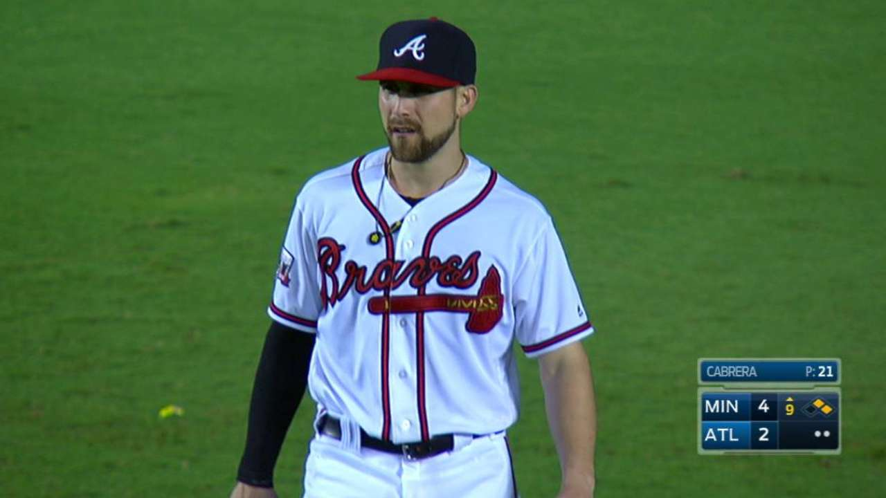 Inciarte's outfield assist