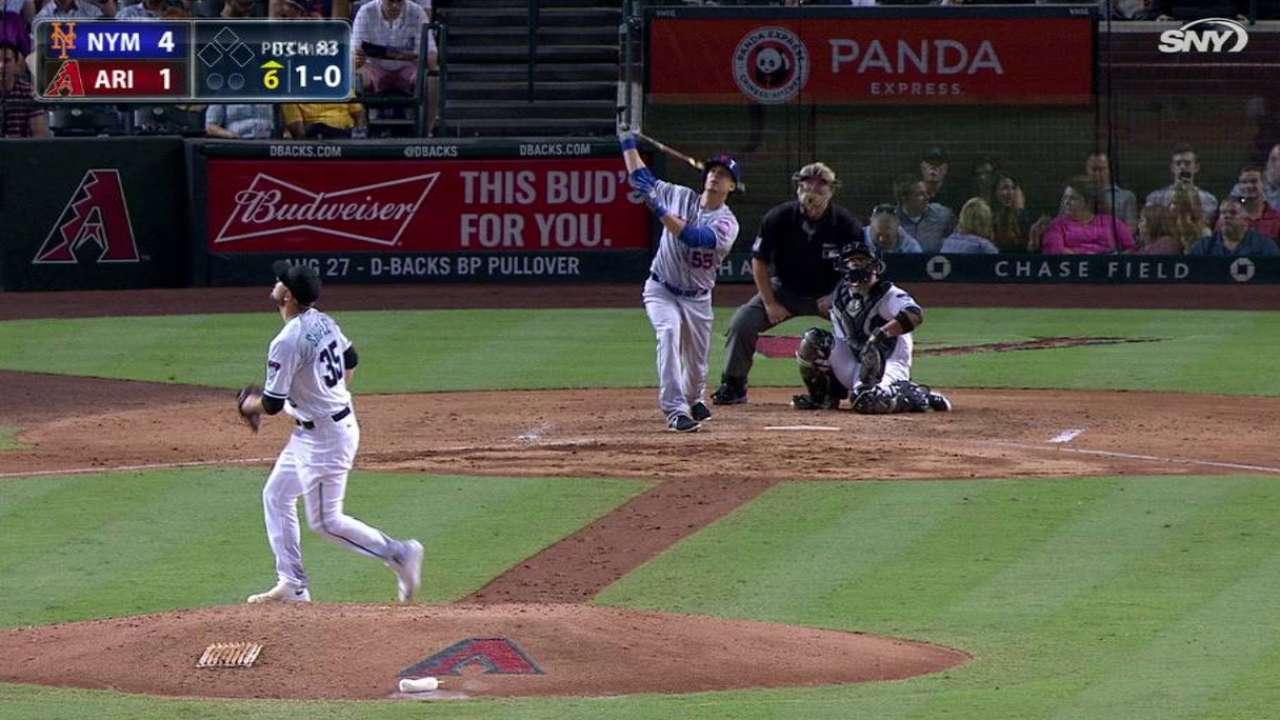 Johnson's homer pads lead