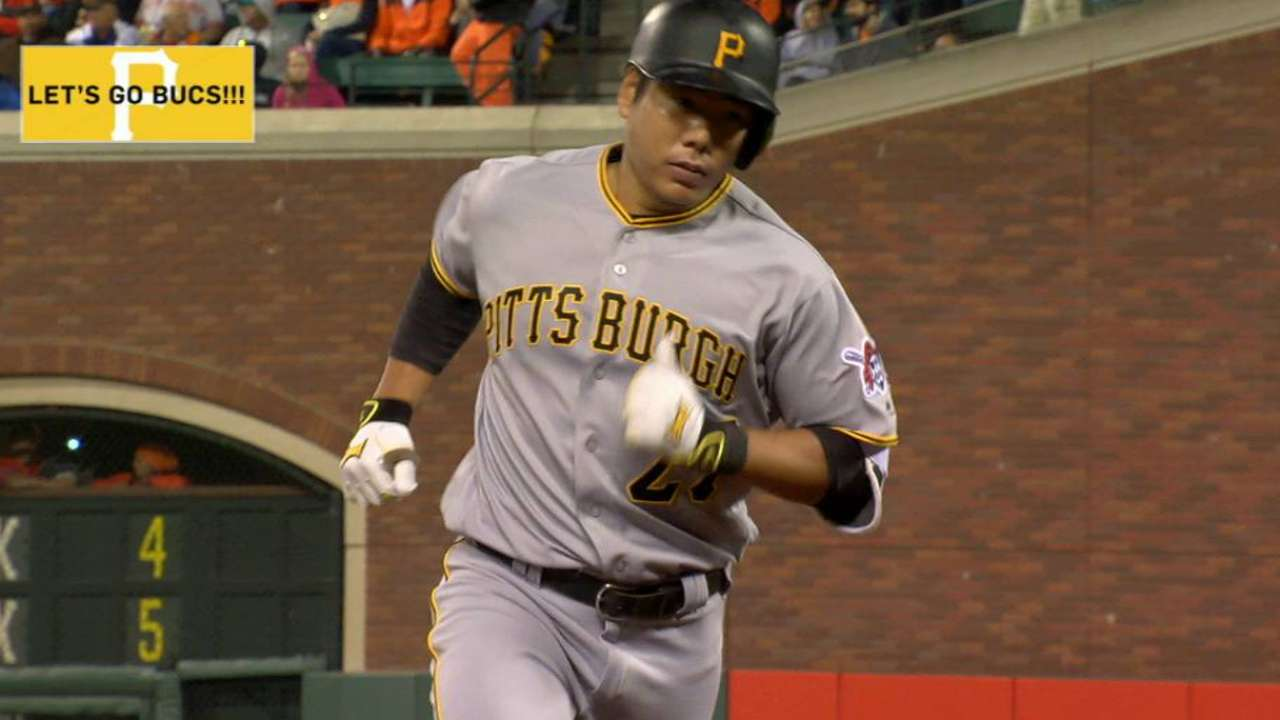 Kang's homer drops Giants out of first place