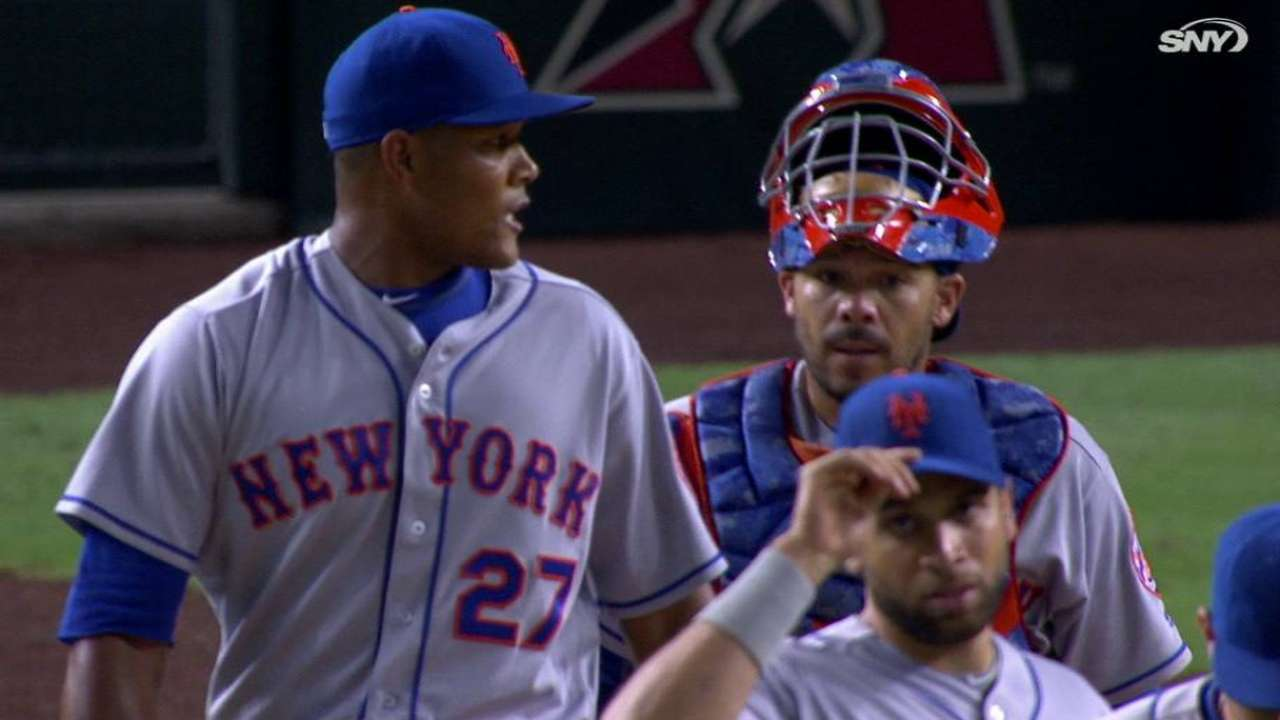 Familia's 40th save of the year