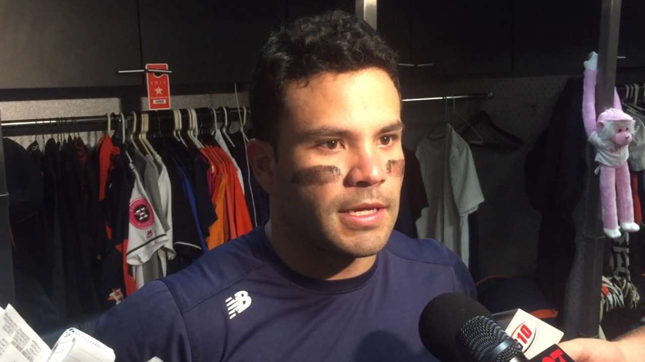 Altuve, Hinch on 1,000th hit