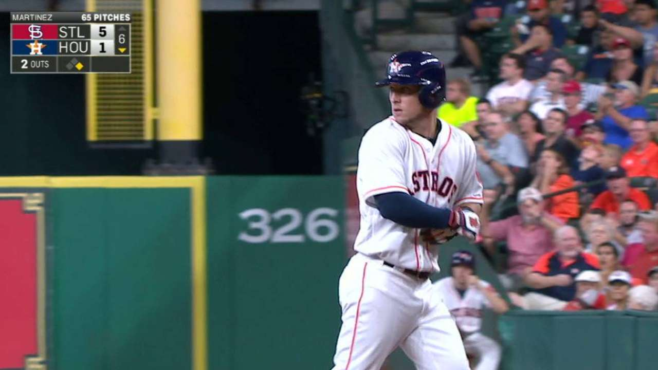 Astros can't come back, drop fourth in a row