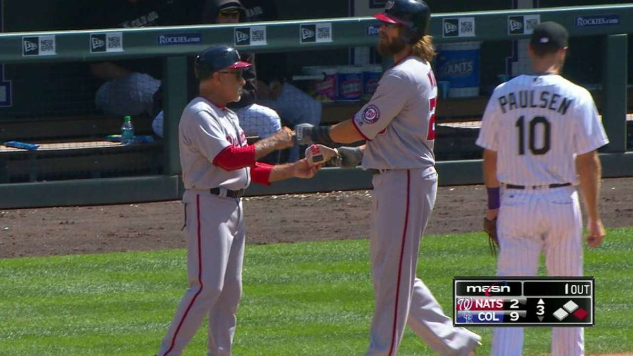 At 45, Werth 1 shy of franchise on-base record