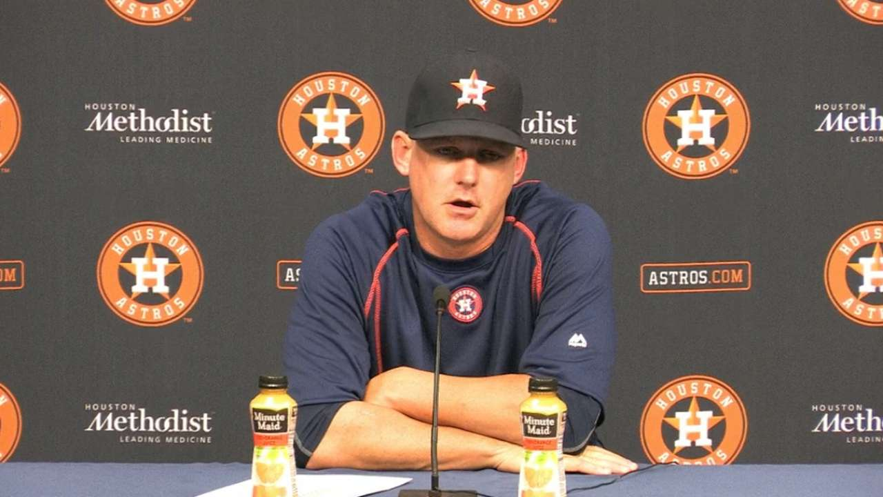 Hinch on loss to Cardinals
