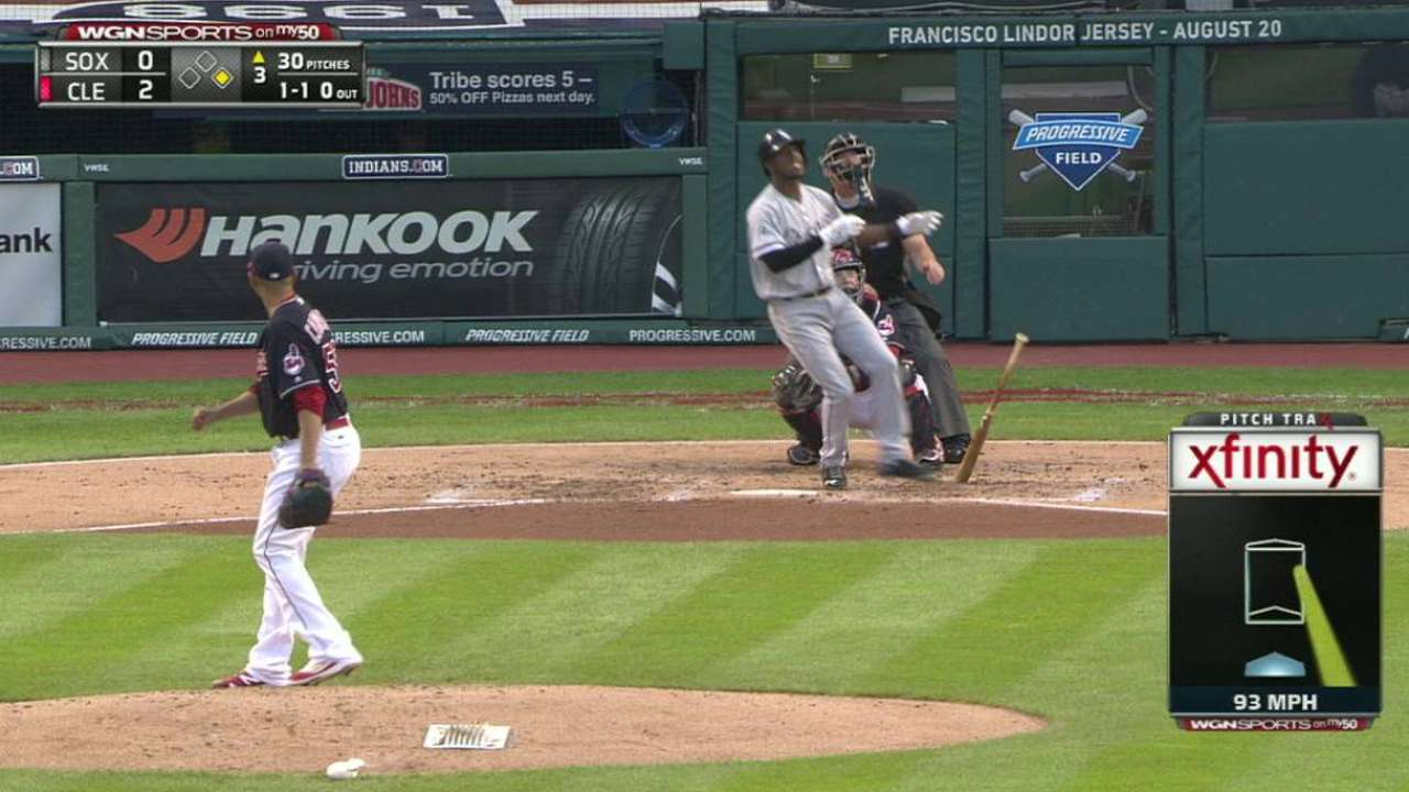 Anderson's monster two-run homer