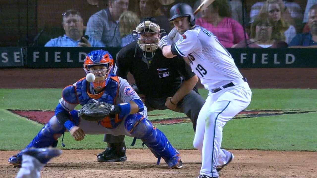 D-backs' Mets dominance stalls