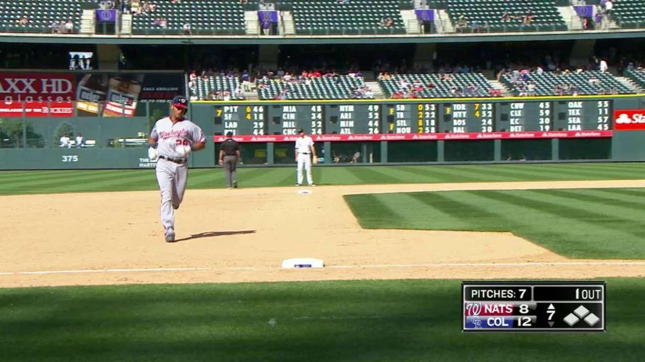 Severino's first career home run