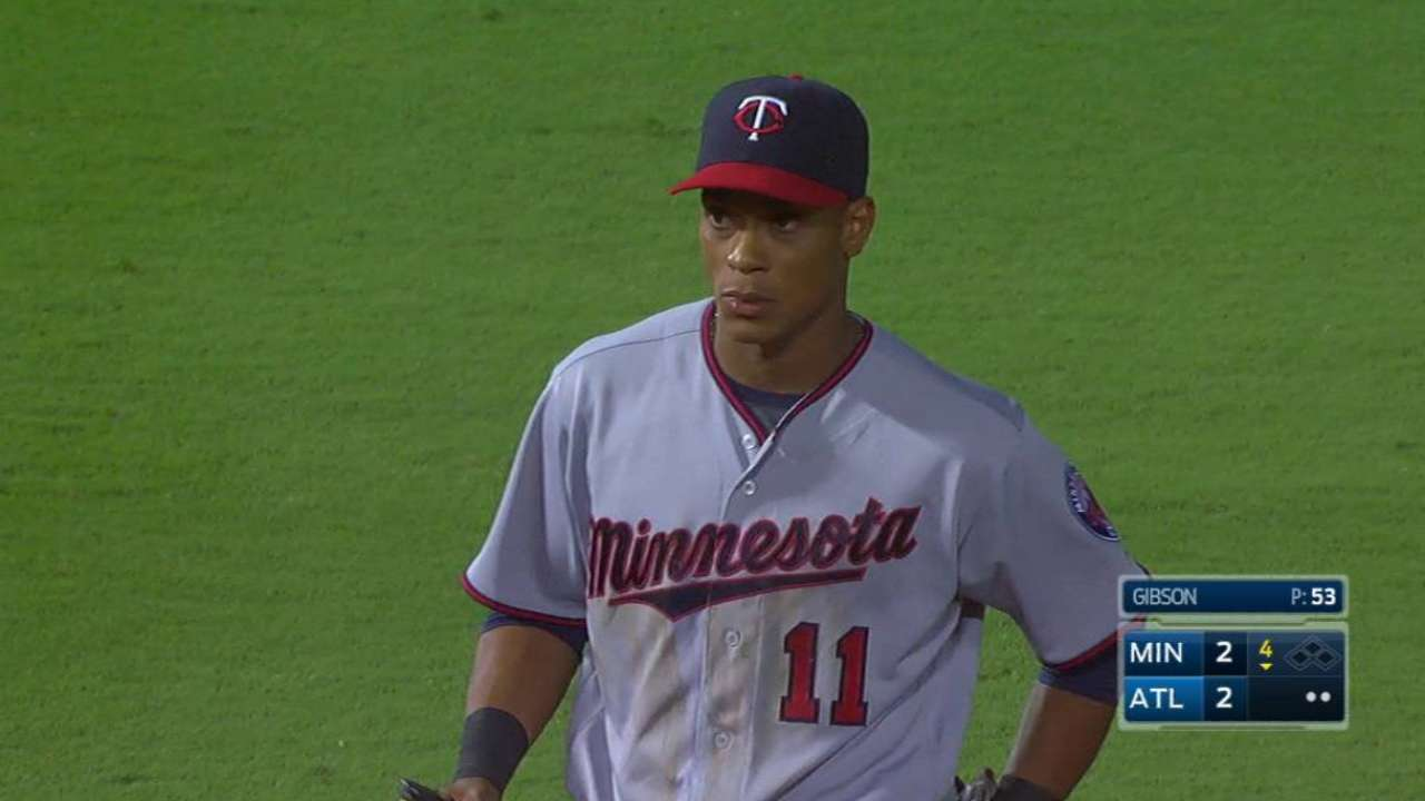 Twins giving Polanco extended look at short