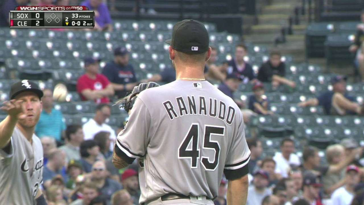 Ranaudo fans Naquin in the 2nd