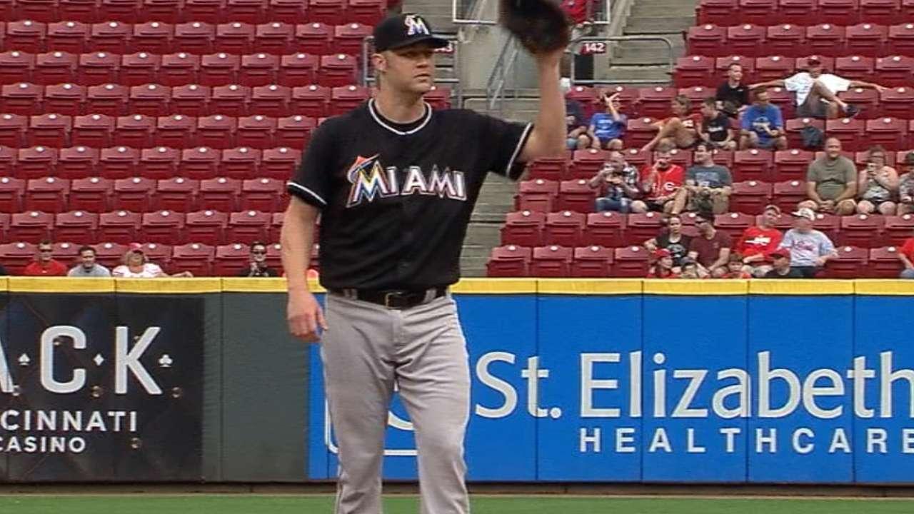 Cashner improves, but Marlins need innings-eater