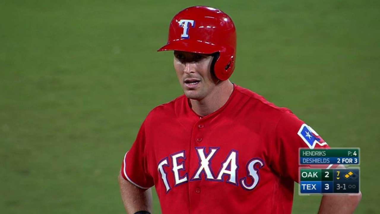Rangers' aggressiveness pays off with sweep