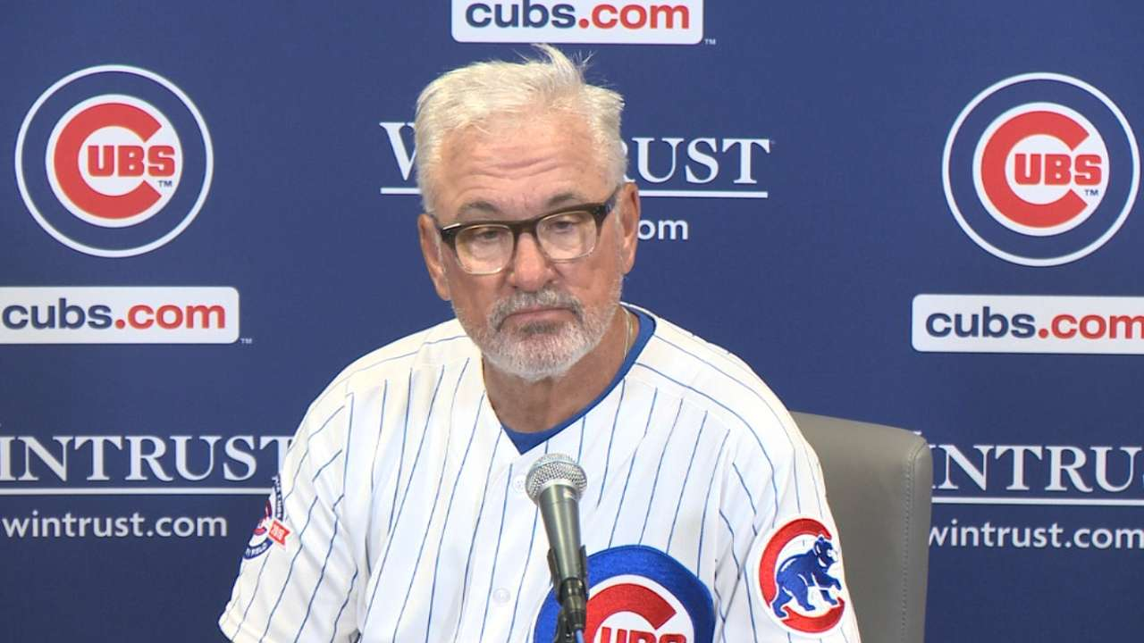 Maddon on 9-6 win over Crew