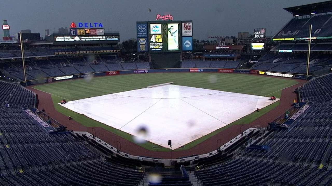 Nationals-Braves opener to start at 8:25 ET