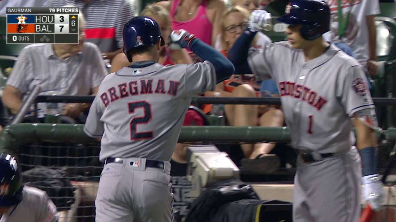 Bregman's solo smash