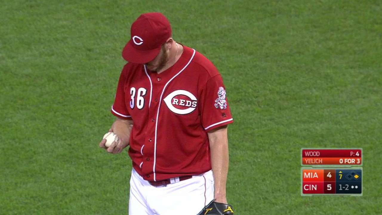 Wood's big strikeout ends threat