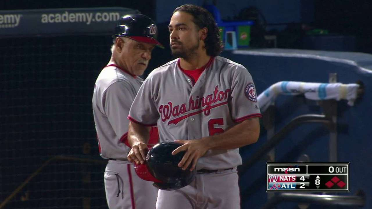 Rendon gets hit, brings home one