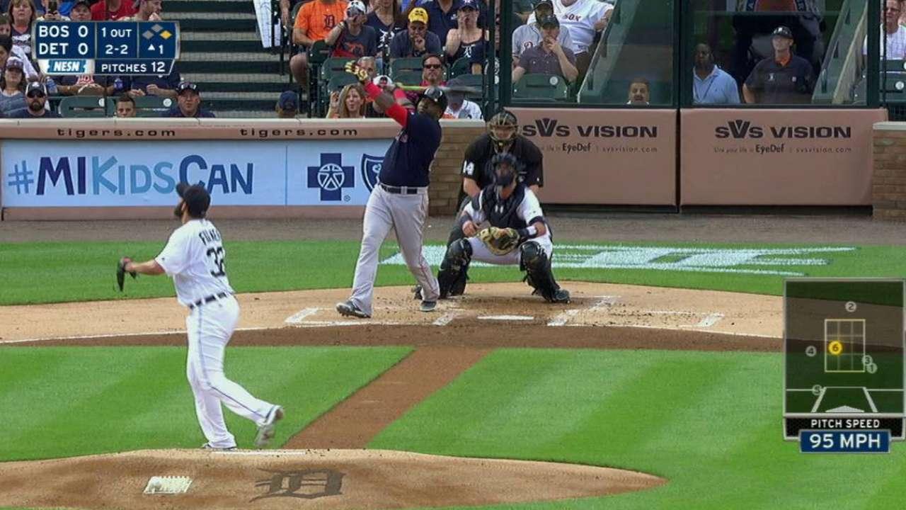 Ortiz's early two-run dinger