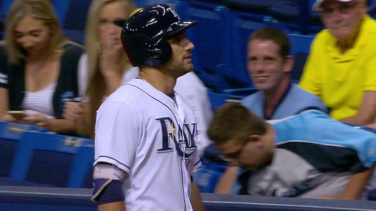 Kiermaier, Franklin exit game early