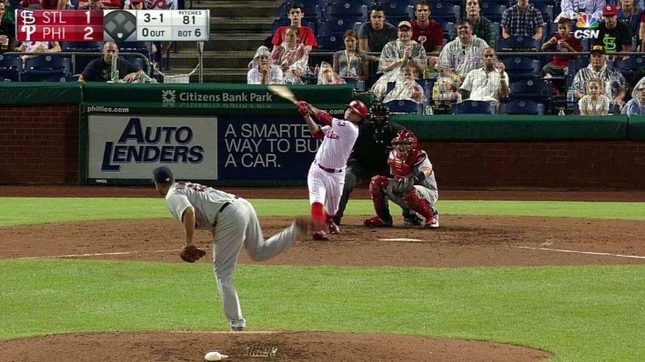 Galvis' solo home run