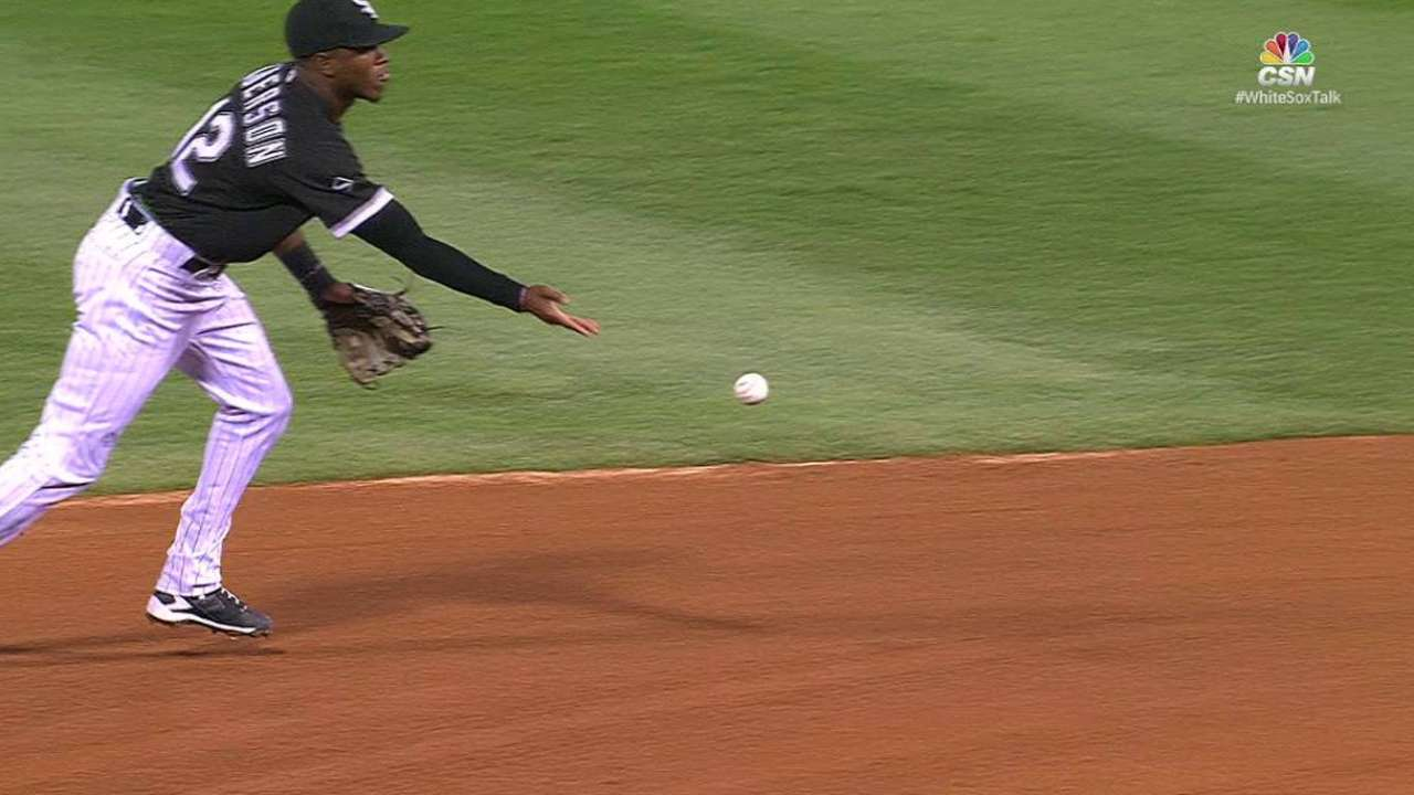 Shields induces a double play