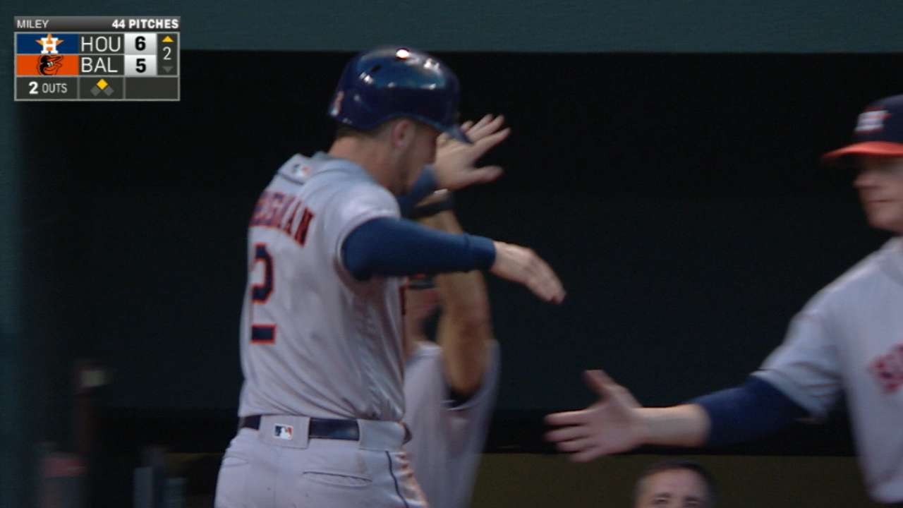 Astros answer bell with stirring comeback victory