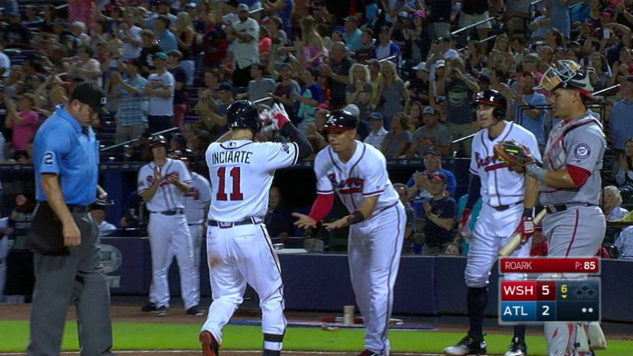 Inciarte's two-run homer