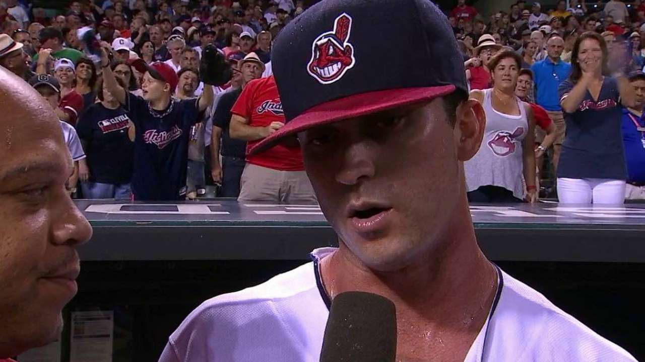 Naquin on his walk-off home run