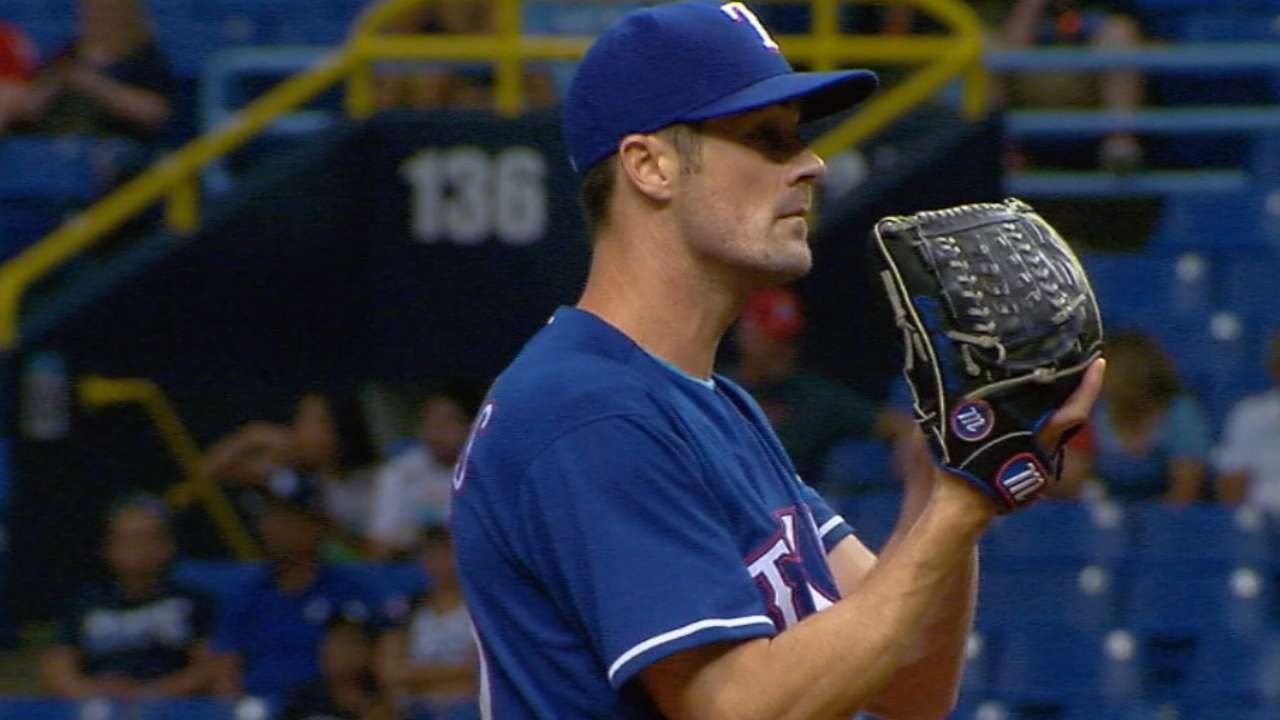 Rangers, Indians play for AL's best record on MLB.TV