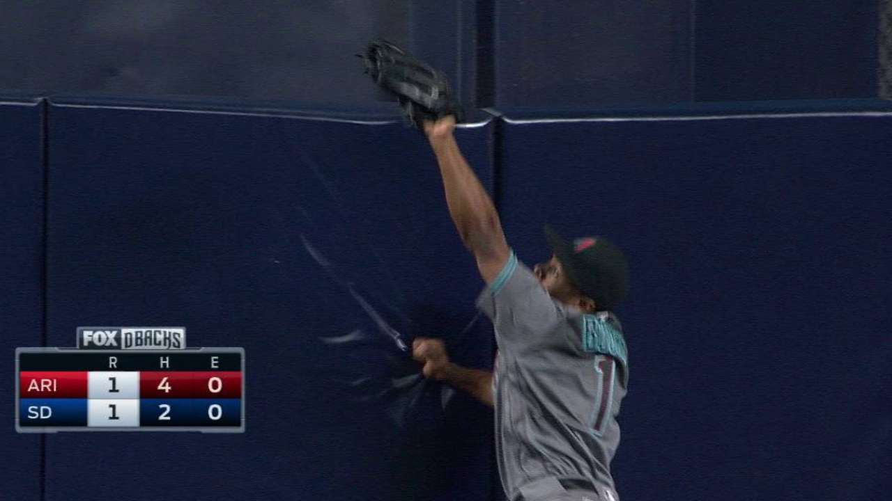 Bourn's spectacular catch