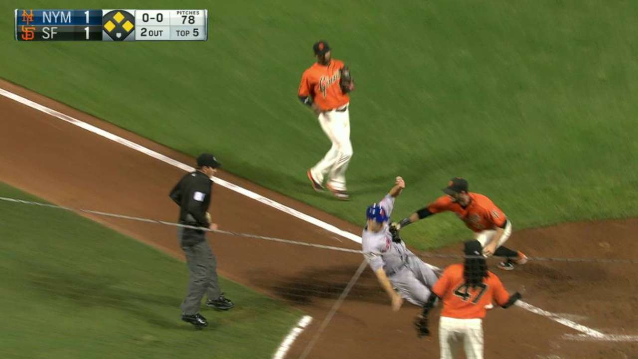 Giants relay nails Lugo at home