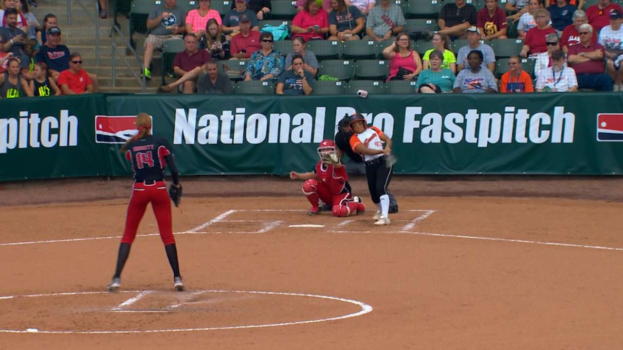 Abbott making most of being face of softball
